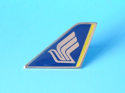 PIN161 | Lapel Pins | Tail Pin - Singapore Airlines