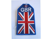 TAG321 | Bag Tags | Luggage Tag - British Flag GBR