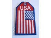 TAG320 Bag Tags Luggage Tag USA Flag
