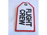TAG200 | Bag Tags | Luggage Tag - Flight Crew (white)