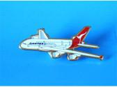 PIN300 | Lapel Pins | Plane Pin - A380 Qantas