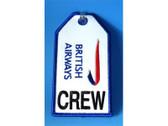 TAG048 | Bag Tags | Luggage Tag - CREW British Airways