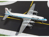 GJUAL972 Gemini Jets 1:400 Douglas DC-6 United Airlines 'Mainliner Colours' N37502