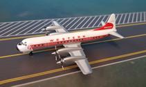 AC18319 | Aero Classics 1:400 | Lockheed L-188 Electra Western N7135C