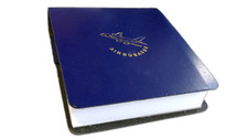 LT006 | A380 Leather Notepad Block (blue)