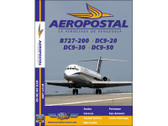 LAV1 World Air Routes (Just Planes) DVD Aeropostal B727-200, DC-9-20, -30, -50 185 Minutes