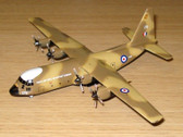 SF016 SkyFame Models 1:200 Lockheed C-130 Hercules RAF Air Support Command XV179
