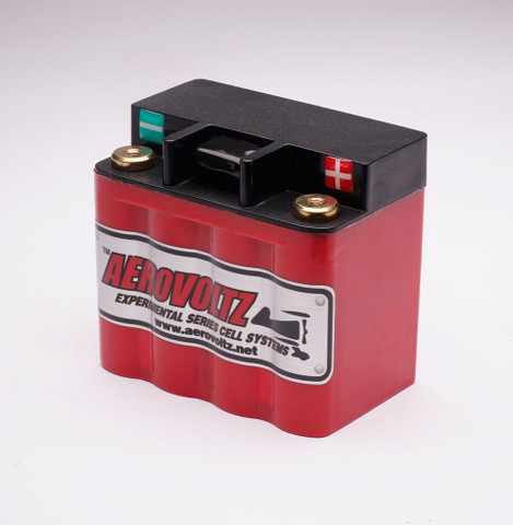 Introducing the new GEN-2 series from Aerovoltz.  Our next generation series of Lithium batteries provides extended service life, less resistance,  which means faster starts and quicker recharging if the battery is drawn down for any reason.  the new case design has more robust terminals and are all welded connections internally.    With the new redesigned cases they are easier to mount and have a thicker wall case for more impact resistance if dropped or damaged for any reason.     The New GEN-2 Series Experimental Aircraft Batteries are the result of years of testing and flight hours around the world.     the AVG2-240 is designed for your two cycle applications or back up battery for avionics.    Most engines in this range use an OEM battery that weighs up to 10.7lbs. The 8 Cell Aerovoltz Battery weighs a little over 1.5lbs. That is a weight savings of 9.3lbs for less than $160! If your vehicle has a modified motor or operates in extreme conditions then we would recommend upgrading to the 12 Cell for added durability. We highly recommend the purchasing the Everything Aero Balance Charger to extend the life of the Lithium Cells and maximize performance and capacity.