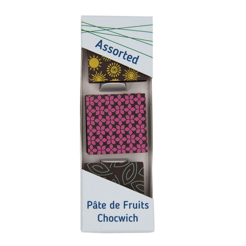 Assorted Pâte de Fruits Chocwich