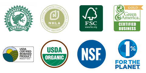 Eco friendly certifications