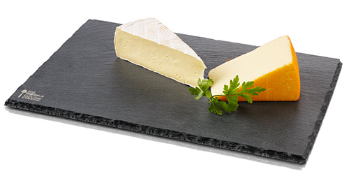 Slate Boards with Cheese