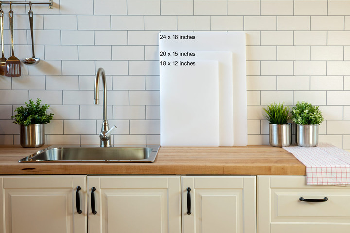 Plastic cutting board sizes