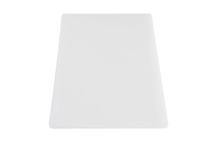 HDPE commercial white plastic cutting board