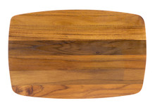 Small teak serving board