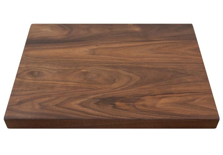 Custom Natural Grain Cutting Board in Walnut