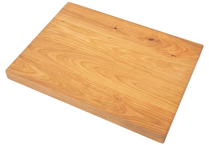 Natural Grain Custom Cutting Board in Cherry