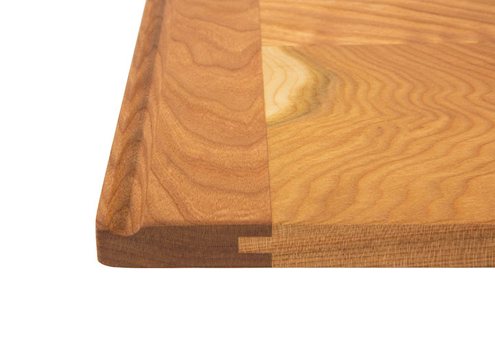 Natural Grain Cherry Custom Cutting Board