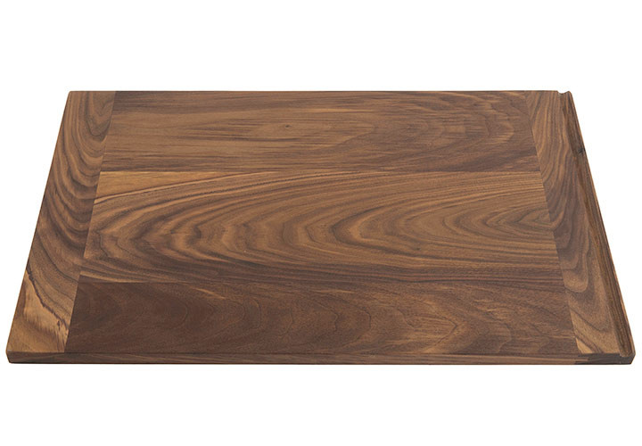 Walnut Custom Pull Out Cutting Board, Natural Grain