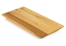 Rich teak board for small servings