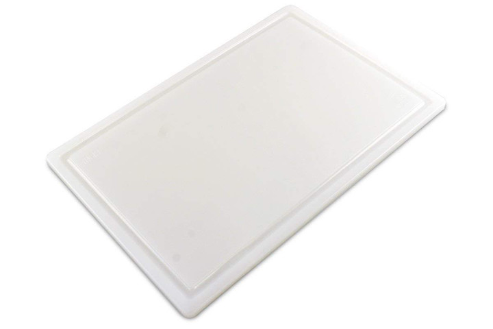 Commercial Plastic Extra Large 30 x 18 Cutting Board with Groove