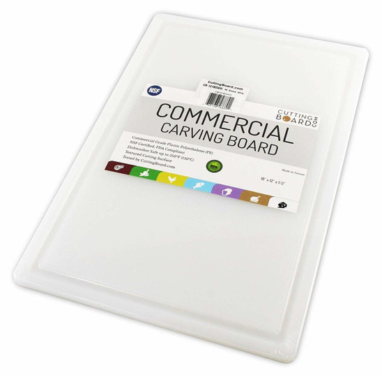 Extra Large Plastic HDPE Cutting Board 30 x 18