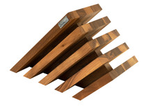 Artelegno Venezia Walnut Knife Block
