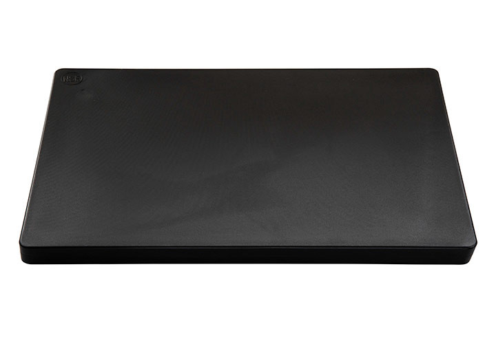 Thick commercial plastic black cutting board
