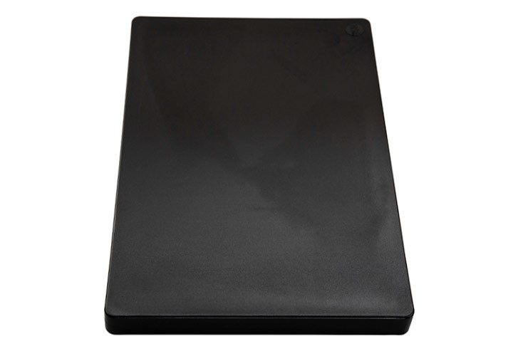 Restaurant grade HDPP black cutting board, NSF and FDA approved