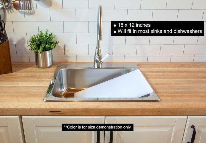 Plastic cutting board 18 x 12
