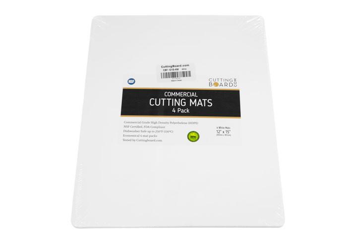 4 Pack White Cutting Mats