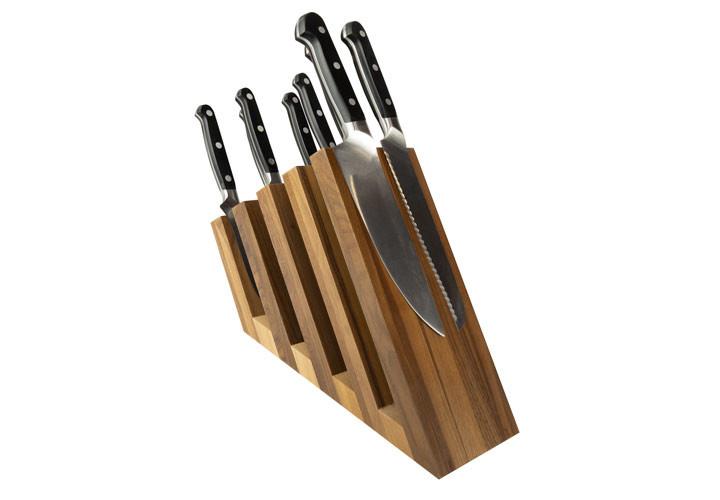 Artelegno Venezia Walnut Knife Block