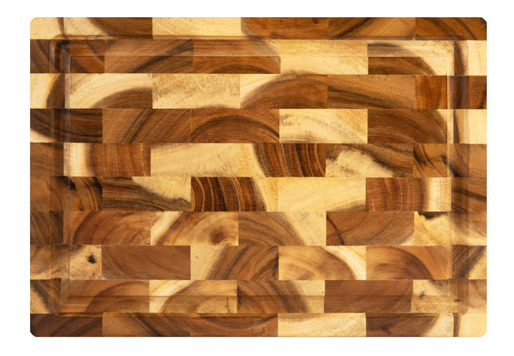 Tropical Acacia End Grain Carver Board