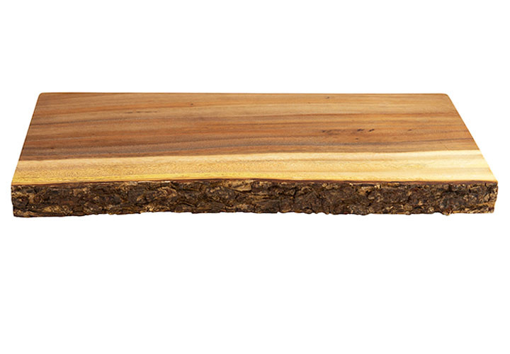 Acacia rustic wood slab