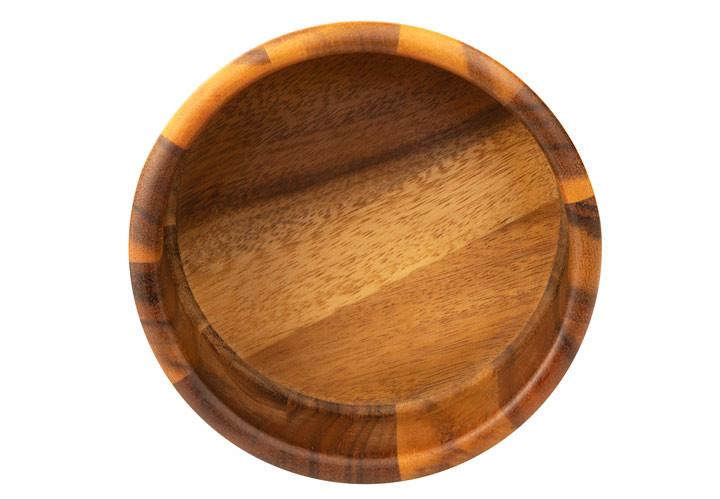 Small Acacia Wood salad bowl