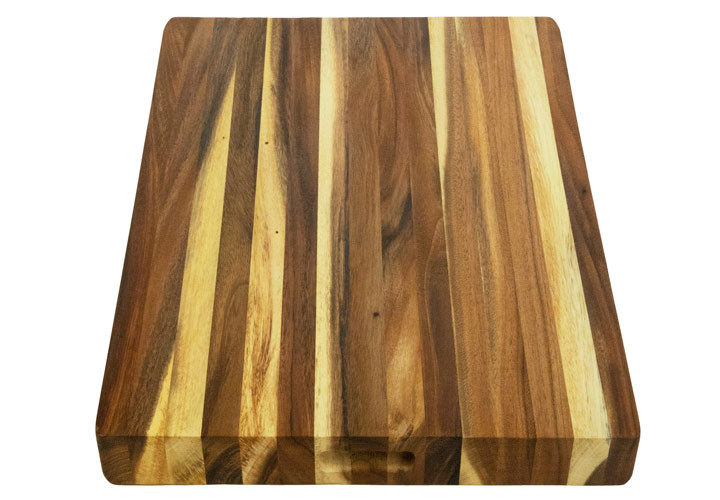 Top view picture of cutting board