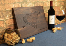 Love Song Lyrics Engraved Cutting Board