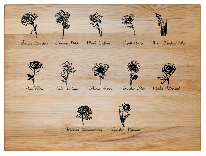 List of Birth Month Flowers