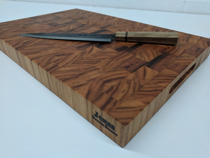 Jones Tiger Wood Butcher Block