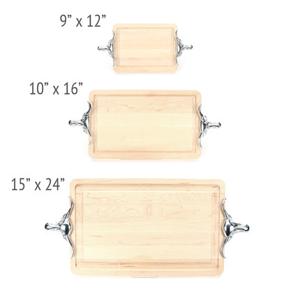 Hard Rock Maple Carving Board Available in Mulitiple Sizes