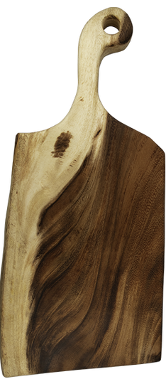 One piece East Asian Walnut serving board