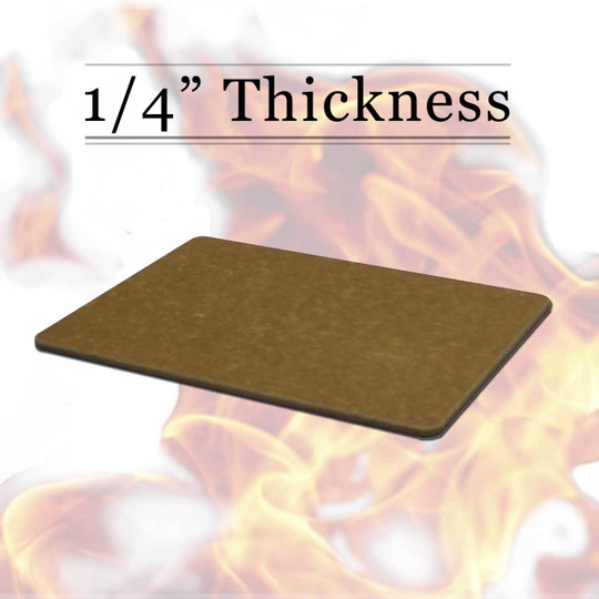 Commercial composite tan Richlite cutting board