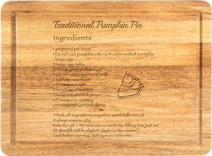 Recipe on Plantation Hardwood