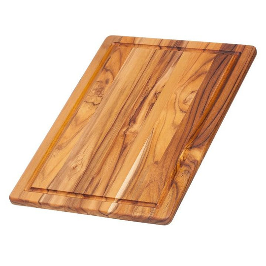 Proteak 405 Teak Cutting Board with Juice Groove