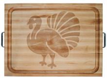 Turkey on John Boos RAFR board