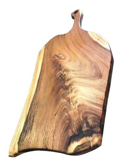 Beautifully patterned East Asian Walnut paddle board