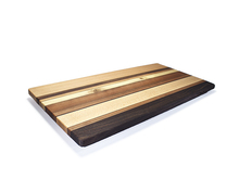 Rectangular cheese board made with Northwest hardwoods