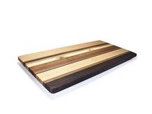 Rectangular cheese board made with Northwest hardwoods