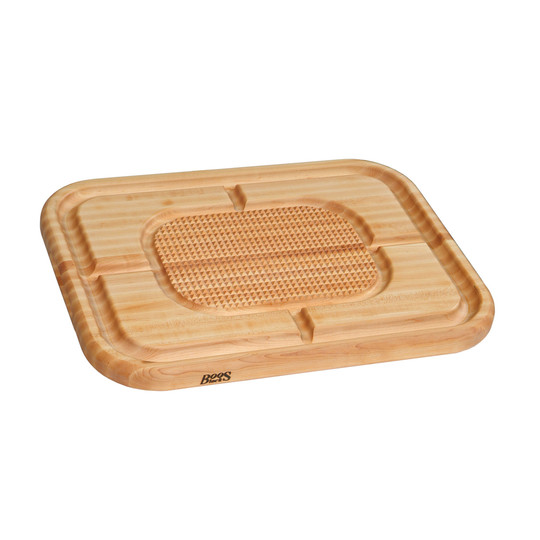 Premium Hard Rock Maple John Boos Reversible Carving Board