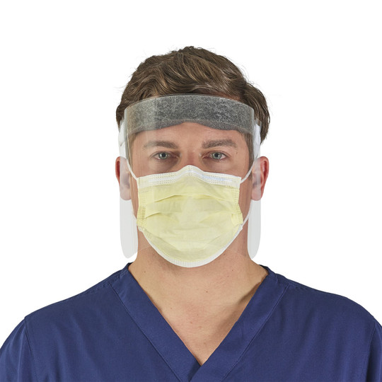 Protective Sneeze Guard, Face Shield