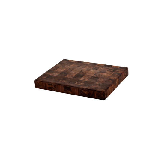 walnut end grain chopping block 9 x 12
